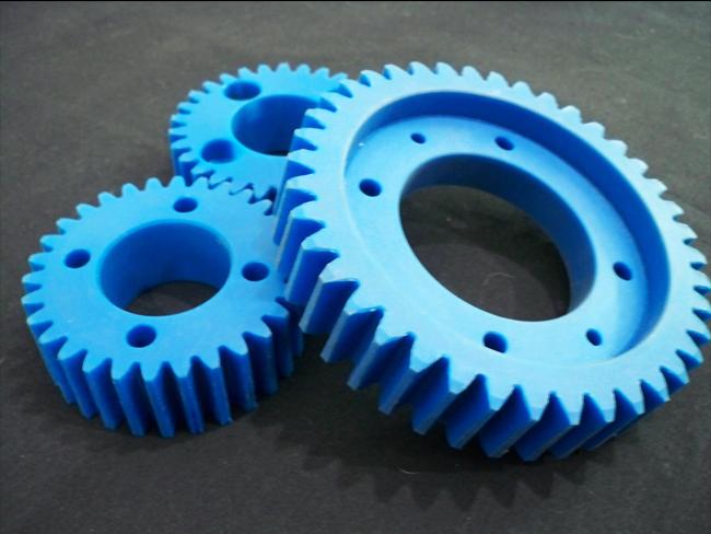 โรงกลึง พลากติก MC-Nylon Blue ทุกชนิด ไดอิชิ วิศวกรรม